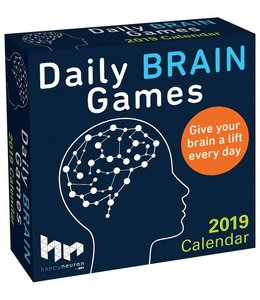 Andrews McMeel Daily Brain Games Kalende 2019 Boxed