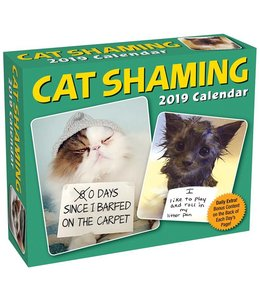 Andrews McMeel Cat Shaming Kalender 2019 Boxed