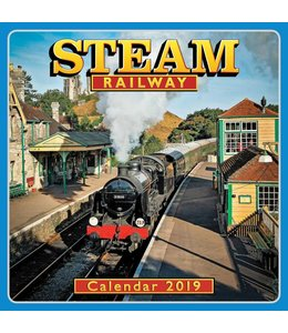 CarouselCalendars Steam Railways Kalender 2019