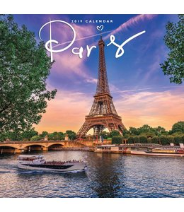 CarouselCalendars Parijs / Paris Kalender 2019