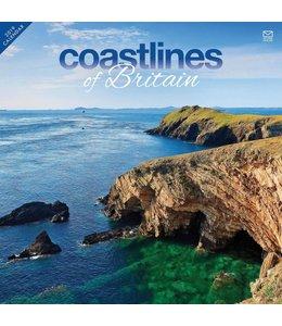 CarouselCalendars Coastlines of Britain Kalender 2019