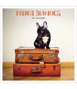 CarouselCalendars Franse Bulldog Kalender 2019