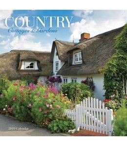 CarouselCalendars Country Cottages en Gardens Kalender 2019