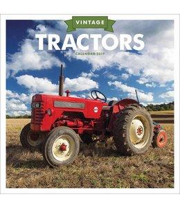 CarouselCalendars Vintage Tractors Kalender 2019