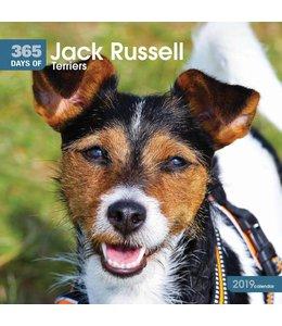 CarouselCalendars 365 Days Jack Russell Terrier Kalender 2019