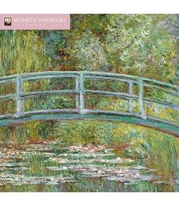 Flame Tree Monet's Waterlilies Kalender 2019