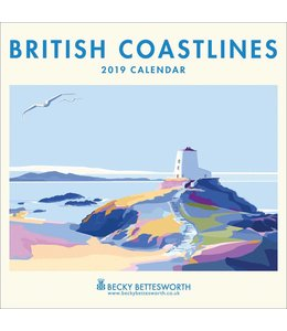 CarouselCalendars British Coastlines Kalender 2019