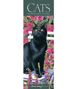 CarouselCalendars Cats Kalender 2019 Slimline
