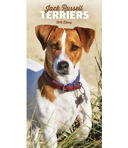 CarouselCalendars Jack Russell Terrier Pocket Agenda 2019