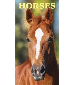 CarouselCalendars Paarden Pocket Agenda 2019