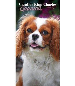 CarouselCalendars Cavalier King Charles Spaniel Pocket Agenda 2019