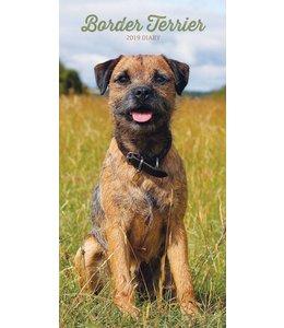 CarouselCalendars Border Terrier Pocket Agenda 2019