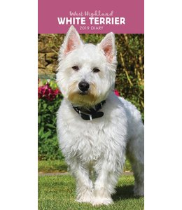 CarouselCalendars West Highland White Terrier Pocket Agenda 2019