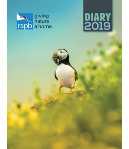 CarouselCalendars RSPB Giving Nature a Home Agenda 2019