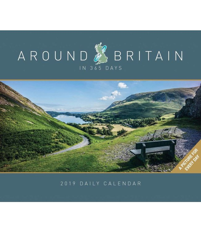 CarouselCalendars Around Britain in 365 Days Kalender 2019 Boxed