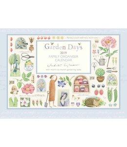 CarouselCalendars Garden Days A4 Planner 2019