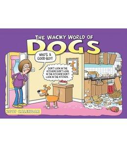 CarouselCalendars Wacky World of Dogs A4 Planner 2019