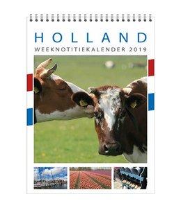 Comello Holland WEEKnotitie kalender 2019