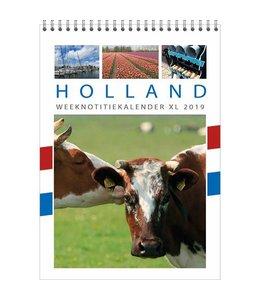 Comello Holland WEEKnotitie kalender XL 2019