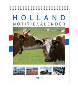 Comello Holland Maandnotitie Kalender wit 2019