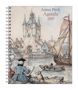 Comello Anton Pieck Agenda 2019 Zicht op haven