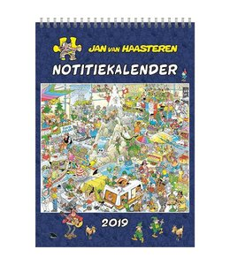 Comello Jan van Haasteren Maandnotitiekalender 2019 A4