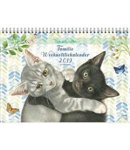 Comello Franciens Katten Familie WEEKnotitiekalender 2019