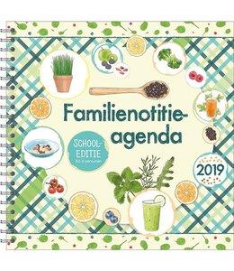Comello Familie Notitieagenda 17-maands 2019 Superfood