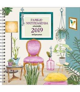 Comello Familie Notitieagenda 2019 Living