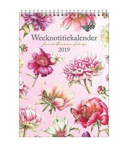 Comello Janneke Brinkman Weeknotitiekalender 2019 Pioen