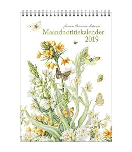 Comello Janneke Brinkman Maandnotitiekalender 2019 Bolgewas