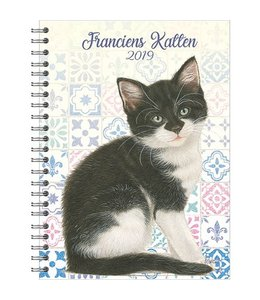 Comello Franciens Katten Bureau Agenda 2019 Kitten