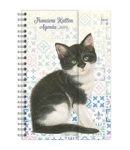 Comello Franciens Katten Spiraalagenda 2019 Kitten