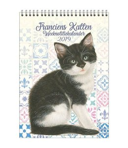 Comello Franciens Katten Weeknotitiekalender 2019 Kitten