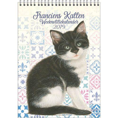 Franciens Katten Weeknotitiekalender 2019 Kitten