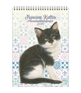 Comello Franciens Katten Maandnotitiekalender 2019 Kitten