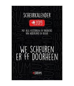 Comello Darum Scheurkalender 2019