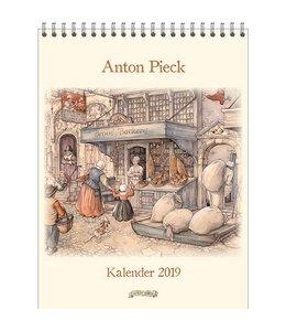 Comello Anton Pieck Kalender 2019 Broodbakkerij