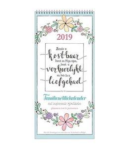 Comello Bijbelteksten Familienotitiekalender 2019