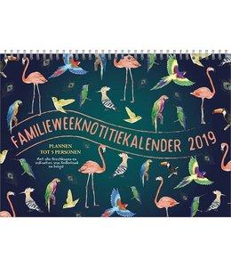 Comello Familie Weeknotitiekalender 2019 Birds