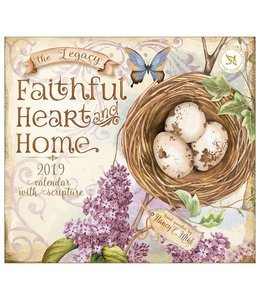 Legacy Faithful Heart and Home Kalender 2019