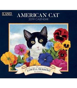Lang American Cat Kalender 2019
