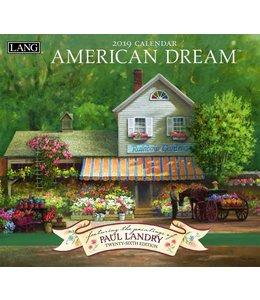 Lang American Dream Kalender 2019