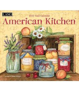 Lang American Kitchen Kalender 2019