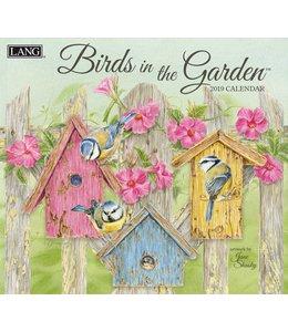 Lang Birds in the Garden Kalender 2019
