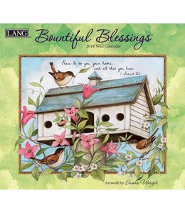 Lang Bountiful Blessings Kalender 2019