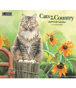 Lang Cats in the Country Kalender 2019