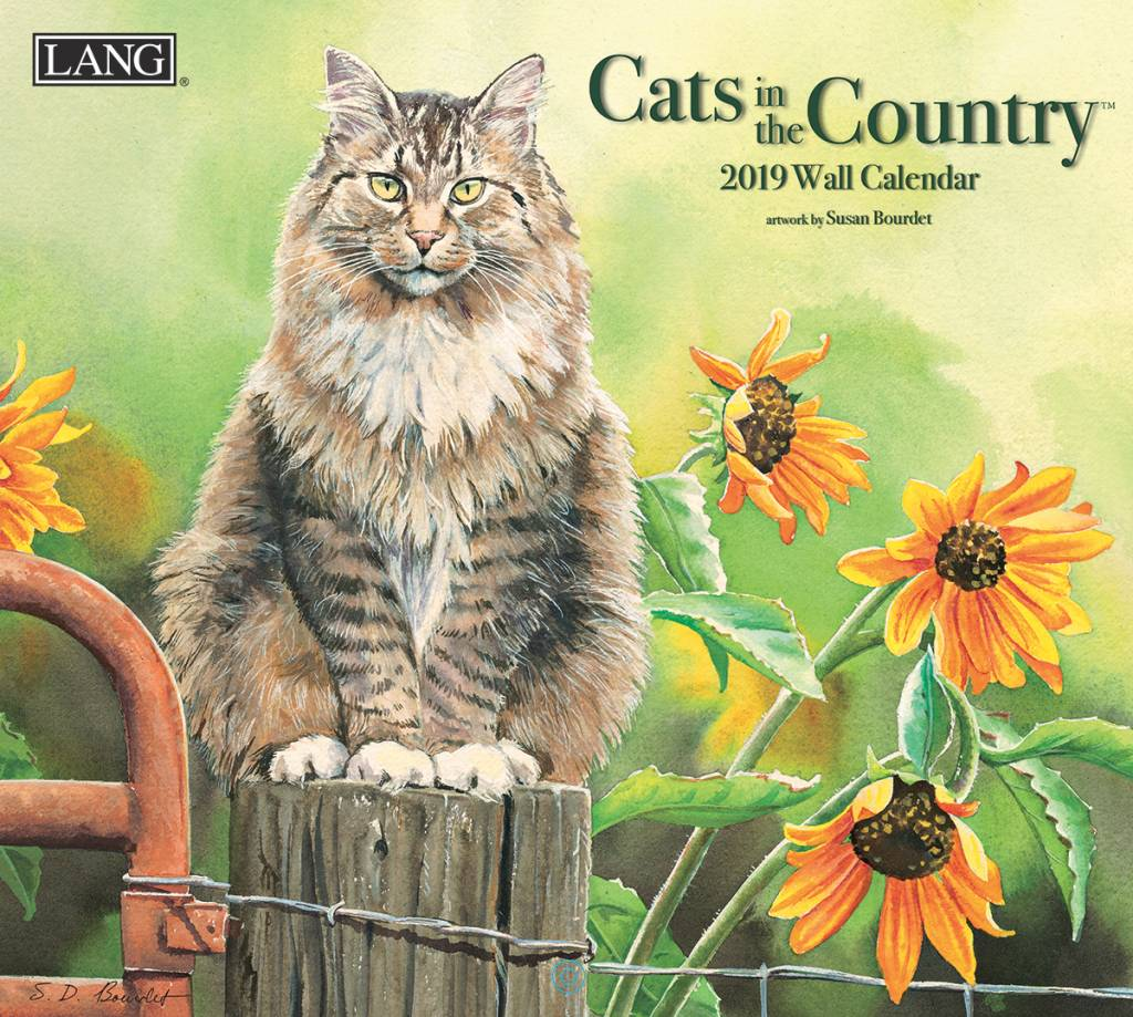 Cats in the Country Kalender 2019