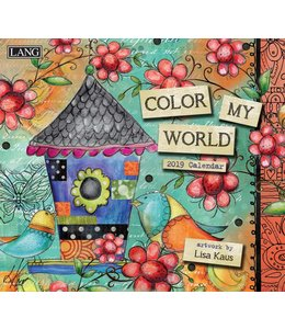 Lang Color my World Kalender 2019
