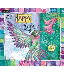 Lang Happy Life Kalender 2019
